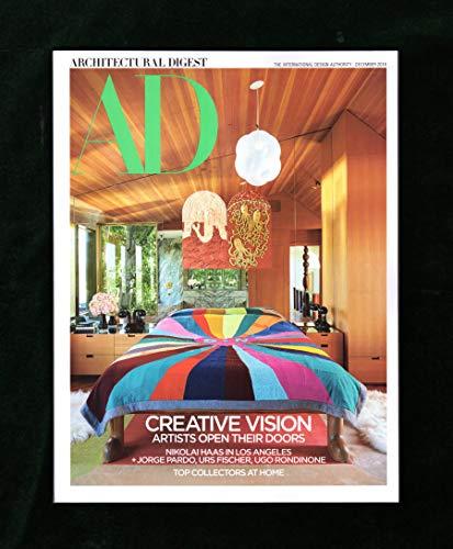 Architectural Digest Magazine (December, 2018) Creative Vision Issue