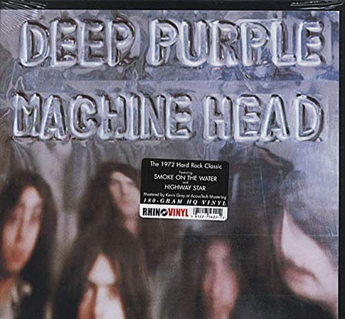 Machine Head LP (Vinyl Album) UK Purple 1972
