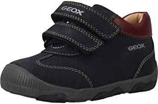 Geox Kids' New Balu Boy 15 All Leather Adventure Shoe Sneaker