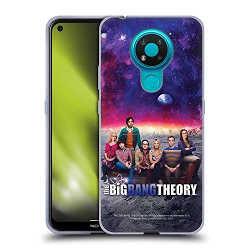 Head Case Designs sous Licence Officielle The Big Bang Theory Saison 11 A Art Clé Coque en Gel Doux Compatible avec Nokia 3.4