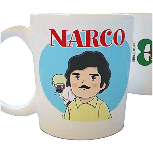 Café y Té Tazas Tazas de Series: Narco Parodias no Oficiales en...