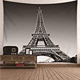 KnBoB Tapiz para Pared La Torre Eiffel 350x256 CM Tejido...