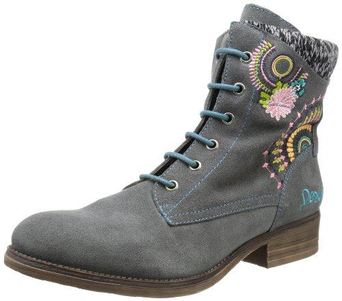 Desigual Ankle Boot Alba-2, Bottes Rangers Femme - Gris - Grau (Cemento 2012), 36 EU