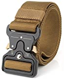 REFINEMMEE MOLLE Tactical Belt CQB Rigger Waistbelt Rappel Battle Adjustable Military Webbing Band...
