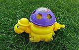 Wasserspielzeug für ganz großen Sprinkler Spaß Ihrer Kinder   Outdoor Spielzeug   Wasserspiel im Garten Spielzeug   Gartenspiele Waterplay Aqua Play   Kinderspielzeug draußen (Gelb/Lila (Schildkröte))
