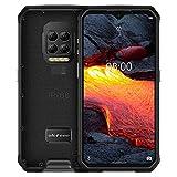 Teléfono móvil Quad Volver Cámaras, IP68 / IP69K impermeable a prueba de polvo a prueba de golpes, y Face ID identificación de huellas dactilares, 6600mAh de la batería, 6,3 pulgadas Android 10.0 Heli