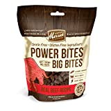 Merrick Power Bites All Natural Grain Free Gluten Free Soft & Chewy Chews Dog Treats Real Beef