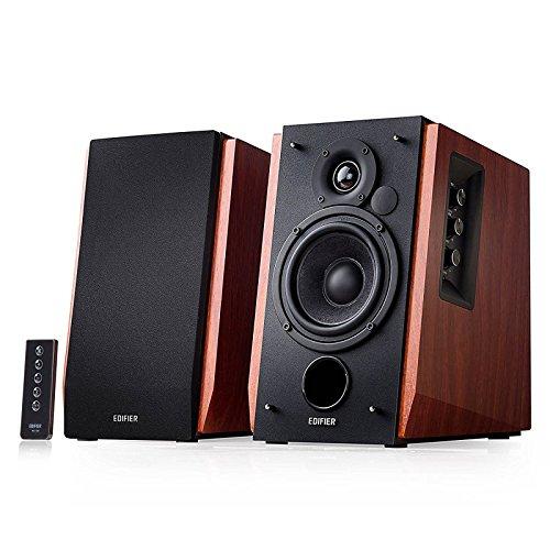Edifier R1700BT Bluetooth Bookshelf Speakers - Active Near-Field Studio Monitors - Powered Speakers...