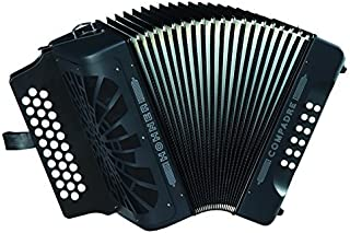 Hohner Compadre GCF Accordion, Black