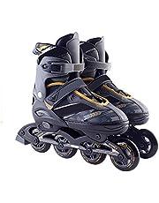 SLjj مزلاجات داخلية قابلة للتعديل، التزلج في الهواء الطلق للبنين والبنات، أحذية تزلج عالية الأداء للبالغين والأطفال، للجنسين