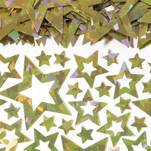 amscan International Confettis étoiles Shimmer-Gold