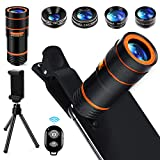 Best Android Camera Phones - Cell Phone Camera Lens Kit,6 in 1 Universal Review