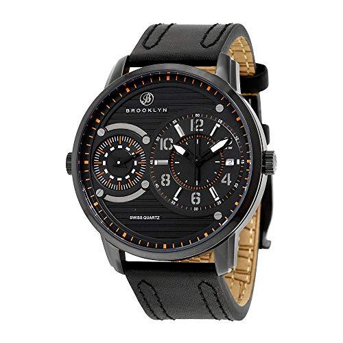 Brooklyn Willoughby Dual Tiempo Reloj Cuarzo Suizo
