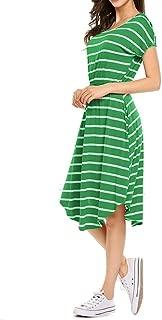 Best striped green dress Reviews