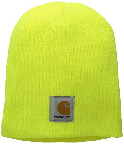 Carhartt Men's Acrylic Knit Hat A205, Brite Lime, One Size