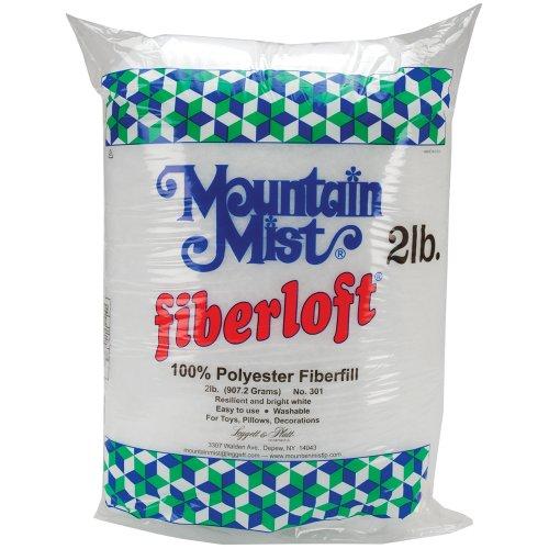 Mountain Mist Fiber loft Polyester Stuffing, 32 Ounces