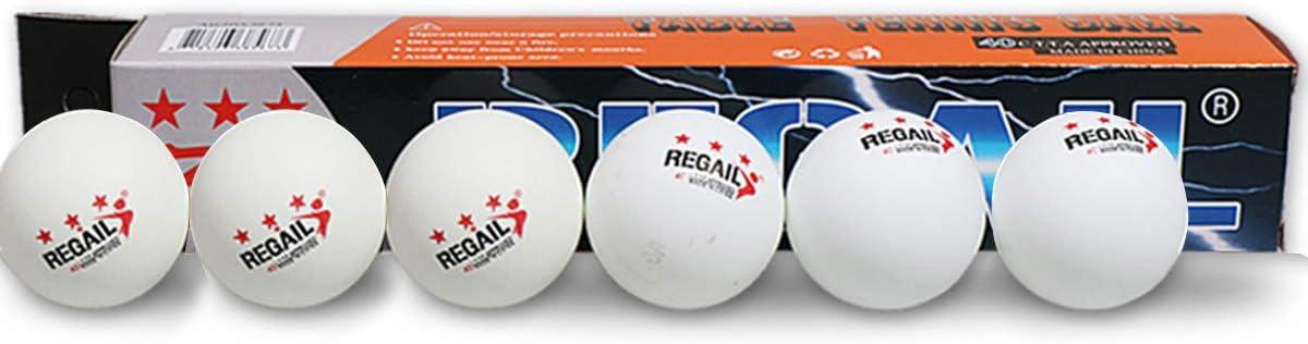 Haokaini 6Pcs 40Mm Tischtennisball Tischtennisb/älle f/ür Wettkampftraining f/ür Profis Und Amateure.