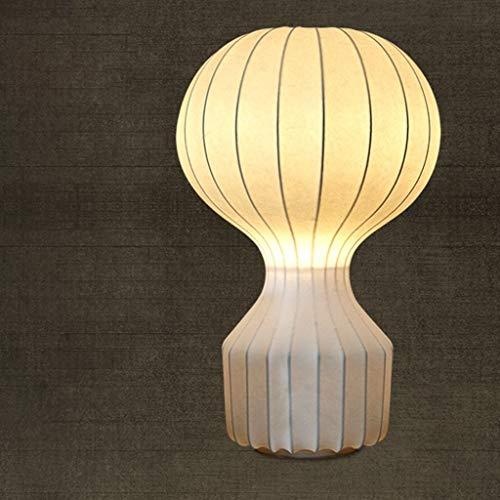 BXU-BG Lámparas de mesa, personalidad simple globo del aire caliente de las luces de estar Sala de Estudio dormitorio lámpara de cabecera, creativo retro luz de la noche de lectura