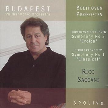 "Beethoven ""Eroica"" Symphony & Prokofiev ""Classical"" Symphony"