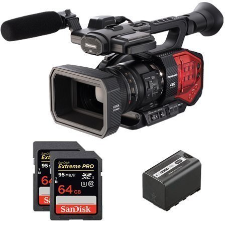 Panasonic AG-DVX200 Shoulder camcorder 15.49MP MOS 4K Ultra HD Nero, Rosso