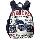Kinderrucksack Kleinkind Jungen Mädchen Kindergartentasche Motorrad Motorrad Helm Teil Backpack Schultasche Rucksack