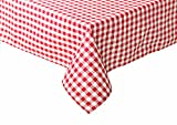 TextilDepot24 - Mantel a cuadros para mesas de cervecería. Color y tamaño a elegir, 100% algodón