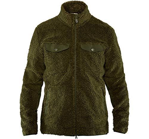 FJÄLLRÄVEN Greenland Pile Fleece M Sweat-shirt Homme Deep Forest FR: XL (Taille Fabricant: XL)