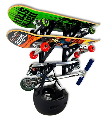 StoreYourBoard Bastidor de Skateboard - 3 Tablas