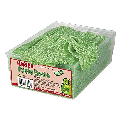 Haribo Pasta Basta Apfel Sour,2er Pack (2x 1.125 kg)