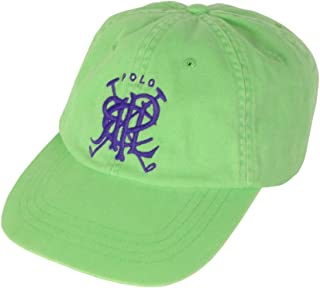 fbc61b335 Polo Ralph Lauren Men's Crossed-Mallets Adjustable Baseball Hat Cap