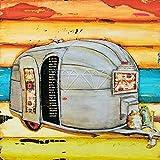 JXMK Pintura al óleo De Bricolaje Faro de Bicicleta de autobús de Coche de Dibujos Animados Sin Marco Pintura al óleo Pintura acrílica DIY Set de Pintura al óleo de Regalo 30x40cm