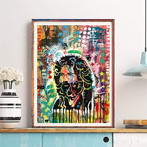Flduod Garcia von Dean Russo Leinwand Malerei Druckraum Moderne Wohnkultur Wandkunst Ölgemälde Poster Wohnzimmer Bild HD-40x60cm