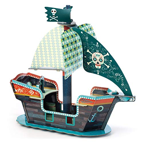 Djeco Pop to Play Piratenschiff 3D