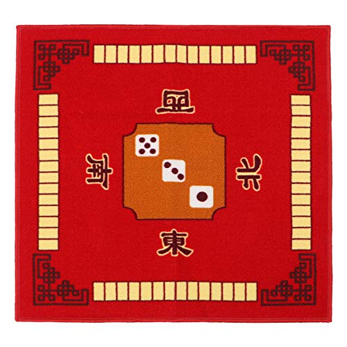 EXCEART Mahjong Table Cover Table Top Mat for Poker Card Games Board Games...