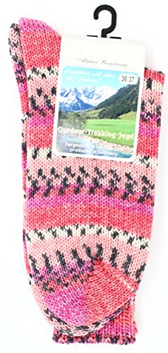 Veith Multicolor-Socks (Pink, 36/37)