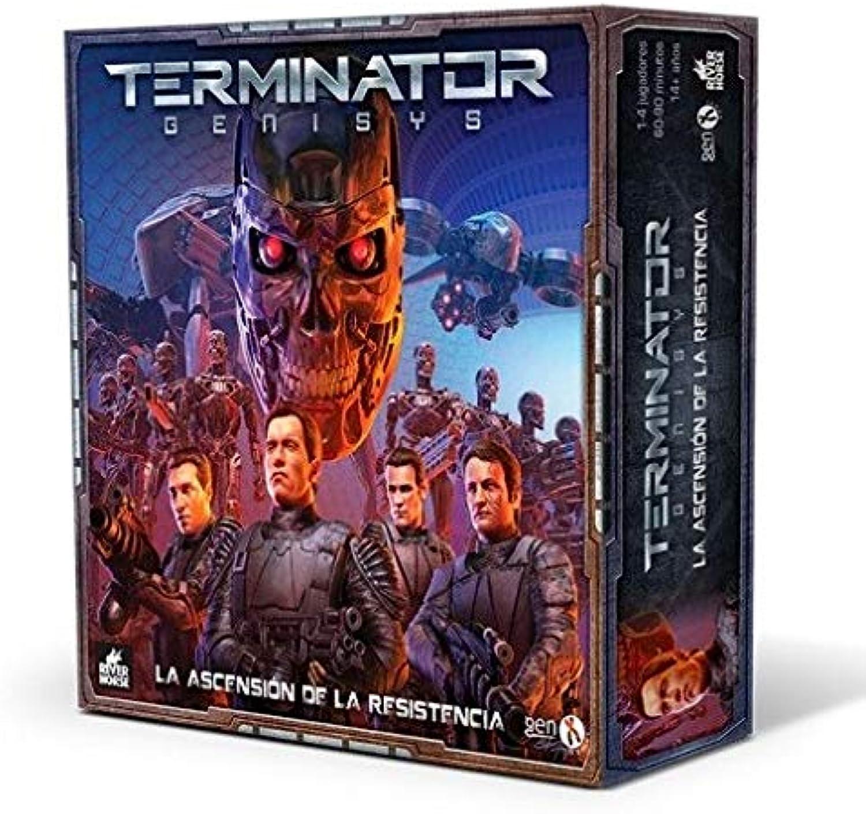 mejor servicio GENX Terminator Genisys  La Ascension Ascension Ascension de la Resistencia - Juego de Mesa [Castellano]  punto de venta