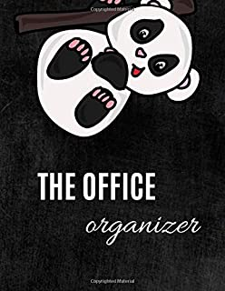 The Office Organizer: Funny Panda Work Day Planner,Daily To-Do List, Day Schedule Organizer, Panda on the Cover, Personal ...