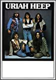 Uriah Heep - High and Mighty 1976 - Poster Plakat