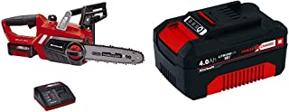 Einhell GE-LC 18 Li Kit - Motosierra a batería Power X-Change 18V , velocidad de corte: 4.3 m/s + 4511396 Power X-Change -...