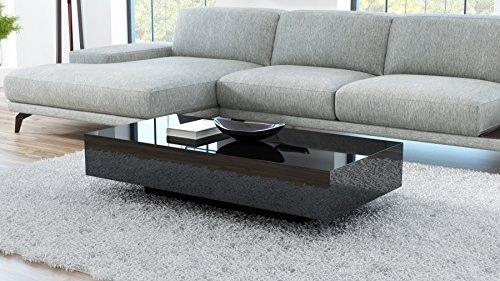 Freshmöbel Tavolino da salotto VIENNA 90 nero