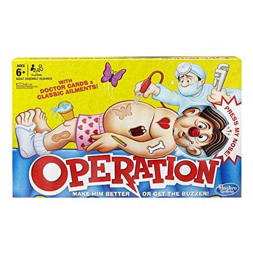 Hasbro Gaming B2176348 Gaming Classic Operation Game