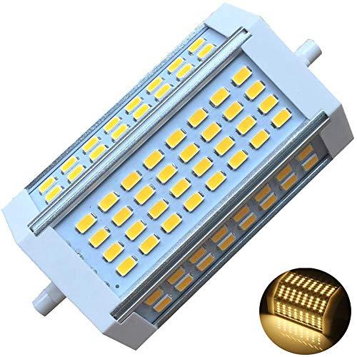 McNory R7S 30W J118 - Bombilla LED Regulable, Doble Extremos, Foco 118 mm, Equivalente 300-350 W R7S, Bombilla halógena de luz de día, 3000 K (Lote de 1),30w dimmable