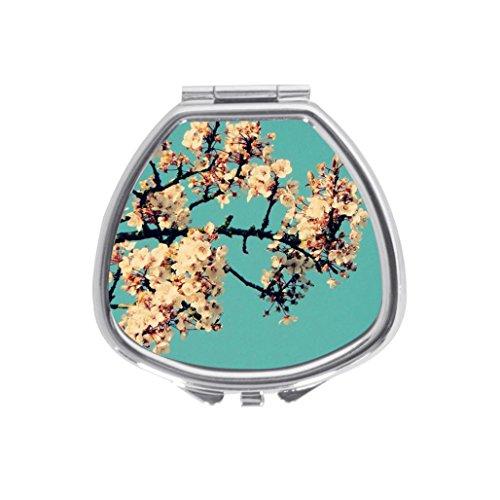 Japanese Cherry Blossom Flower Hard Snap On Cell Custom Sector Medicine Pill Vitamin Box Case Storage Dispenser Organizer Holder
