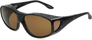 نظارات شمسية فوستر غرانت راين بيضاوية مستقطبة لون السلحفاة، 64.5 ملم
