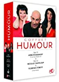 Coffret Humour-Anne Roumanoff/Nicolas Canteloup/Florence Foresti