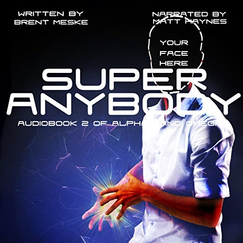 Super Anybody audiobook cover art