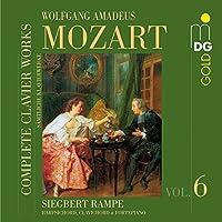 Mozart: Complete Clavier Works, Vol. 6 by Siegbert Rampe (2007-08-28)