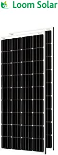 Loom Solar 180 Watt-12 Volt Mono Crystalline Panel (Pack of 2)