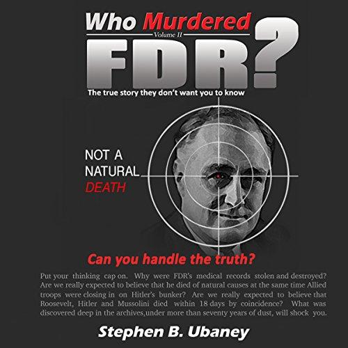 Who Murdered FDR? audiobook cover art