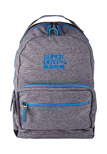 Superdry Moncheater Montana Backpack - Grey/Derby Blue